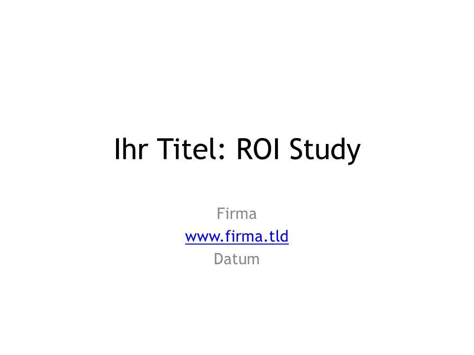 Firma www.firma.tld Datum