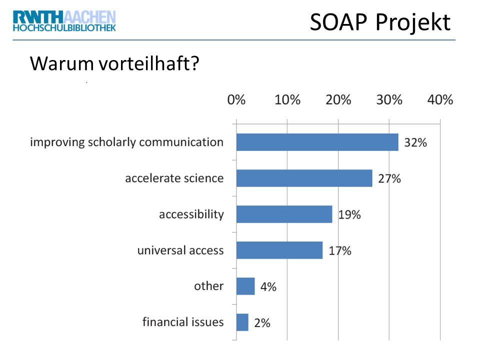 SOAP Projekt Warum vorteilhaft