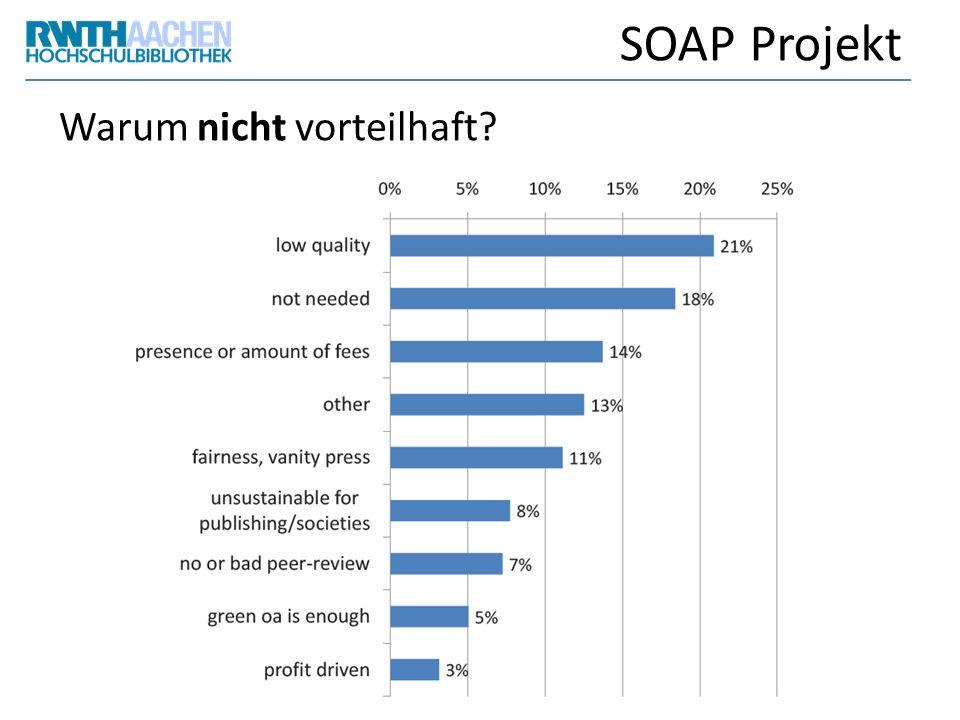 SOAP Projekt Warum nicht vorteilhaft