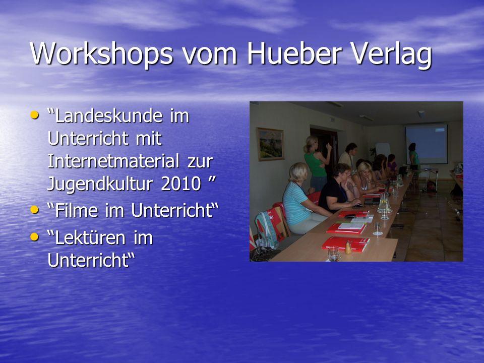 Workshops vom Hueber Verlag