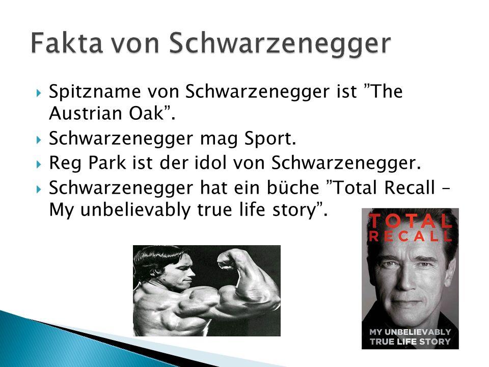 Fakta von Schwarzenegger