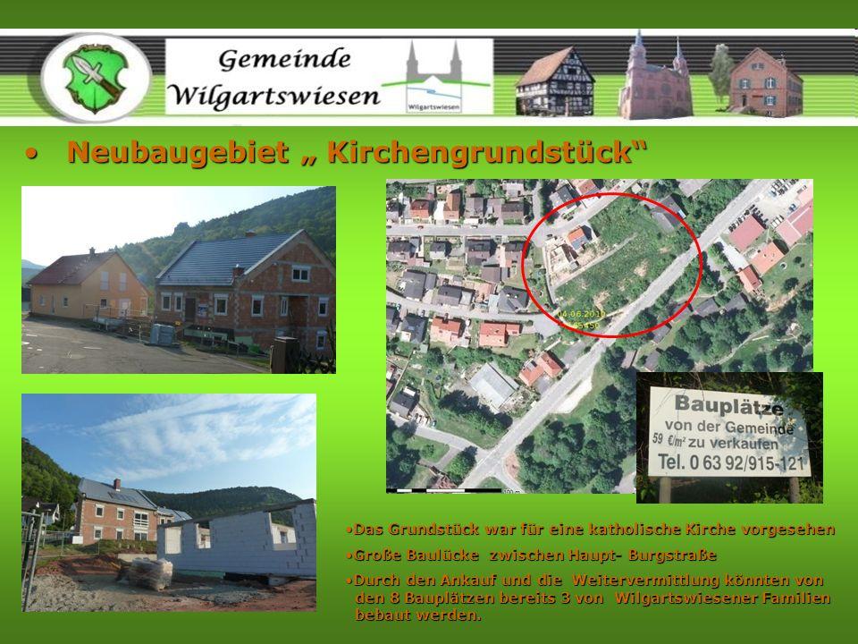 """Neubaugebiet """" Kirchengrundstück"""