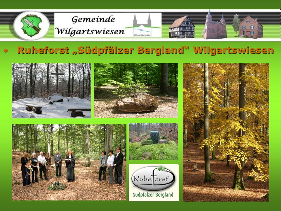 "Ruheforst ""Südpfälzer Bergland Wilgartswiesen"