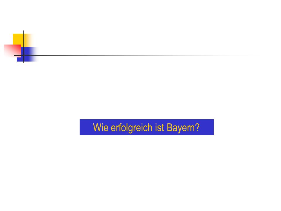 Wie erfolgreich ist Bayern