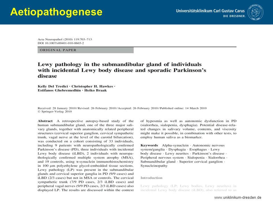Aetiopathogenese