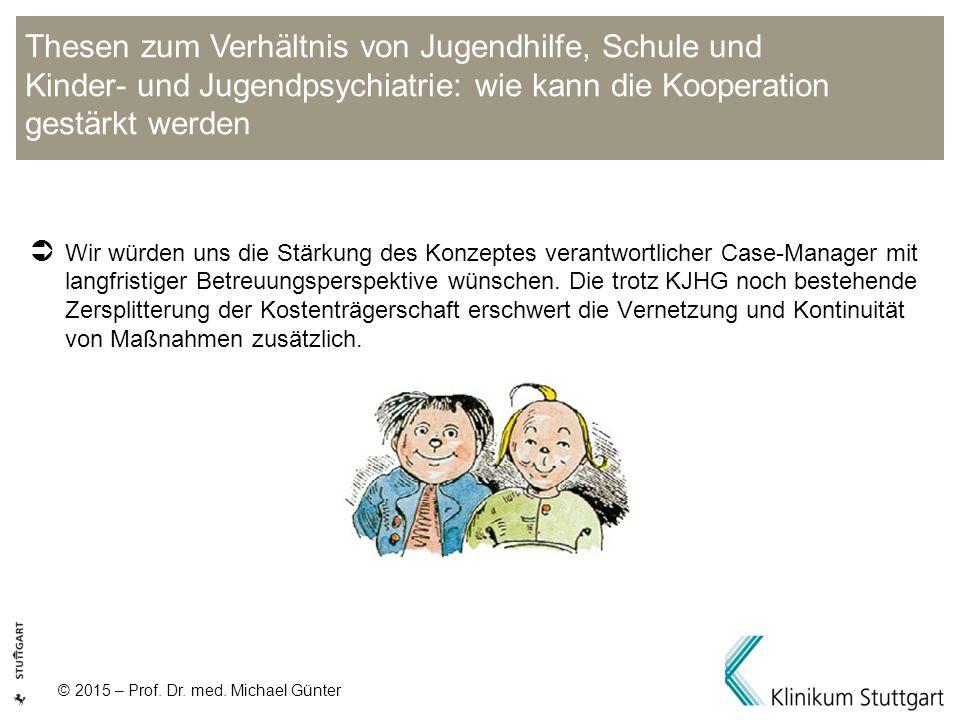 Thesen zum Verhältnis von Jugendhilfe, Schule und Kinder- und Jugendpsychiatrie: wie kann die Kooperation gestärkt werden