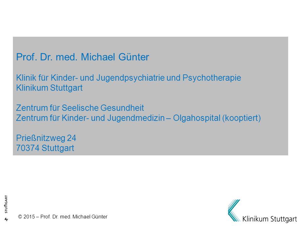 Prof. Dr. med. Michael Günter