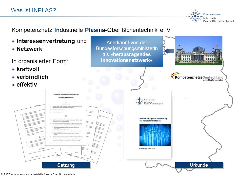 Kompetenznetz Industrielle Plasma-Oberflächentechnik e. V.