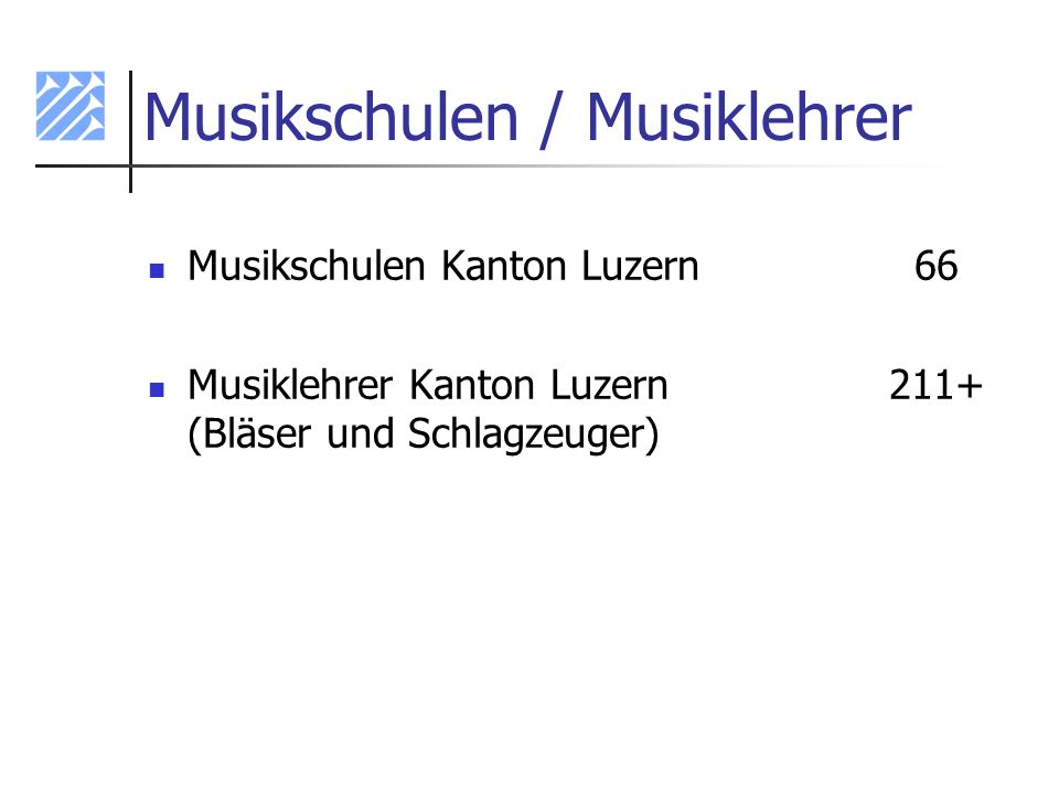 Musikschulen / Musiklehrer
