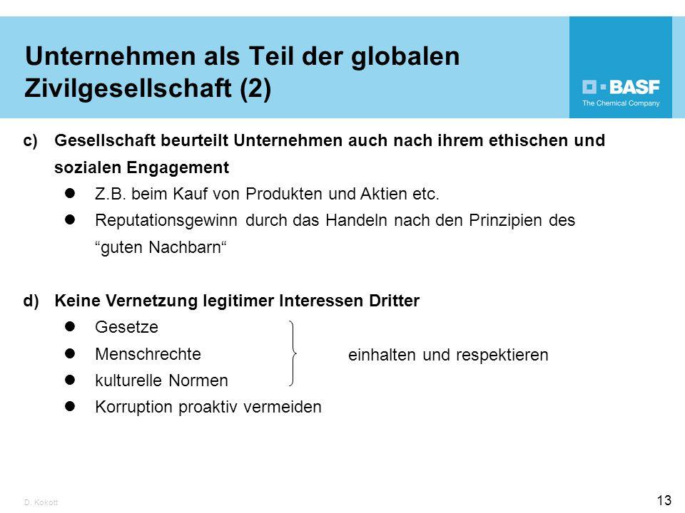 Unternehmen als Teil der globalen Zivilgesellschaft (2)