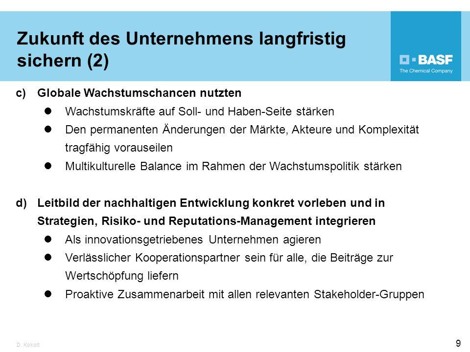 Zukunft des Unternehmens langfristig sichern (2)