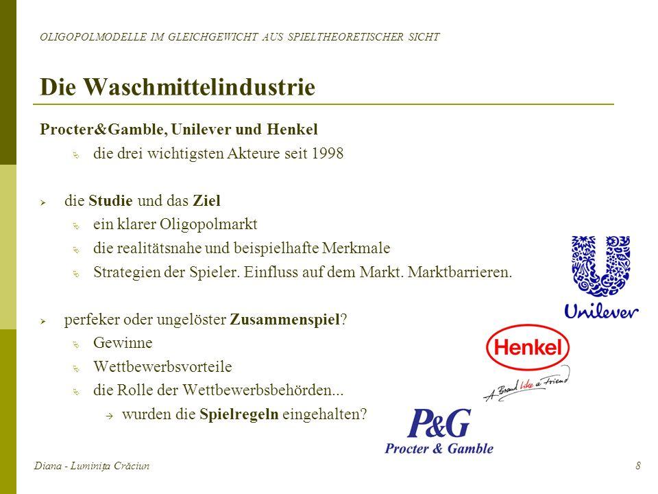 Procter&Gamble, Unilever und Henkel