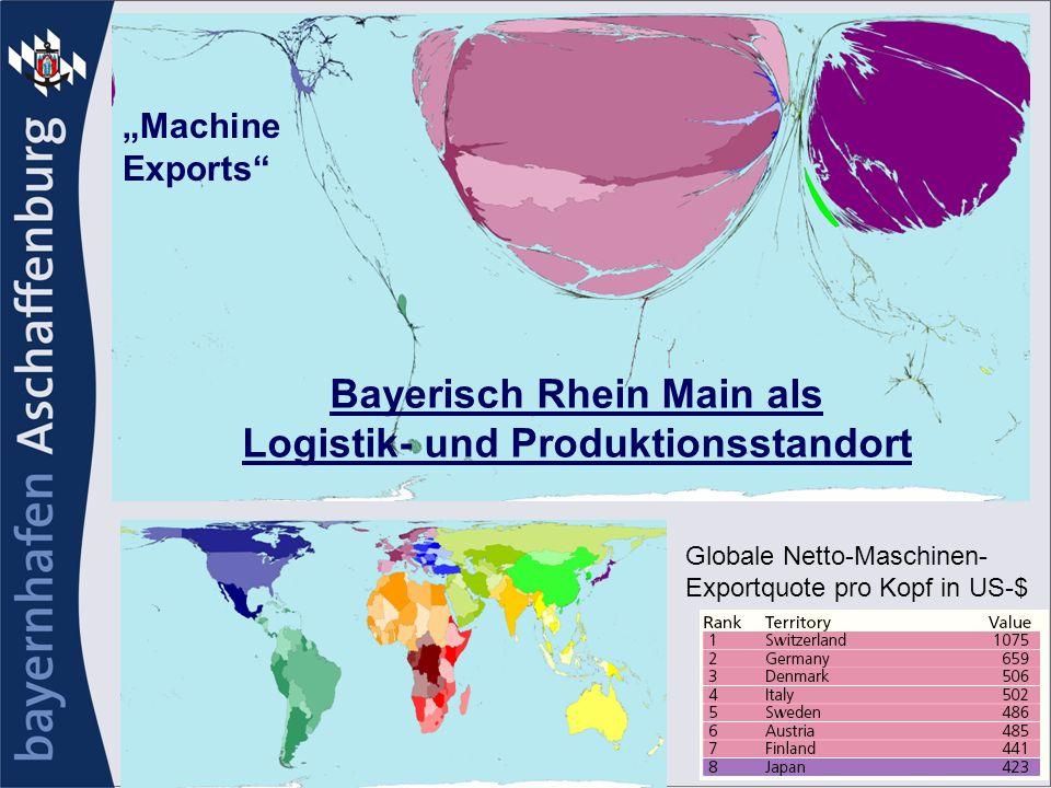 Bayerisch Rhein Main als Logistik- und Produktionsstandort