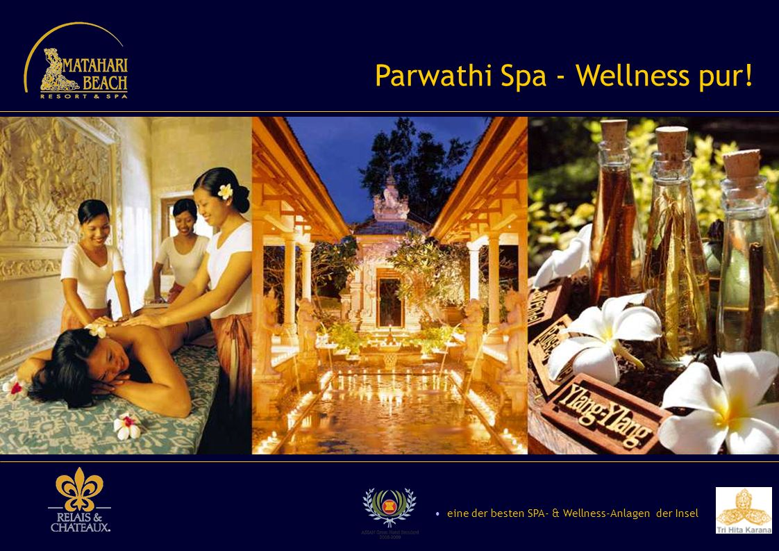 Parwathi Spa - Wellness pur!