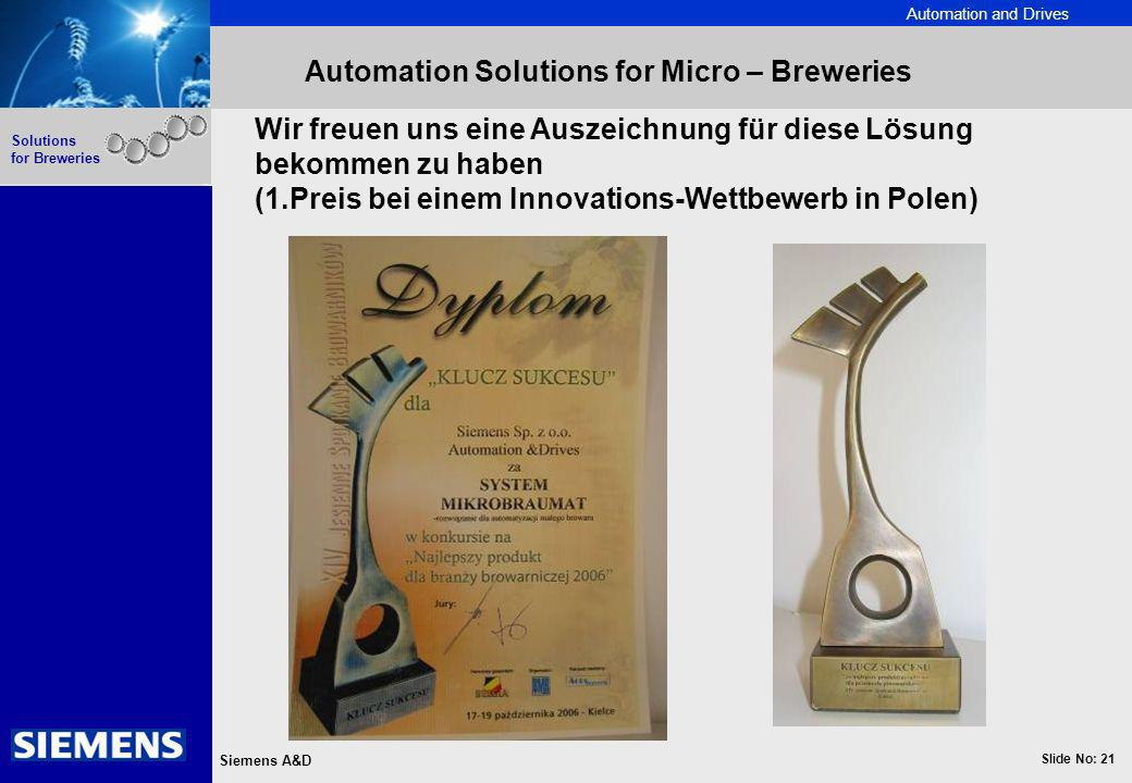 Automation Solutions for Micro – Breweries