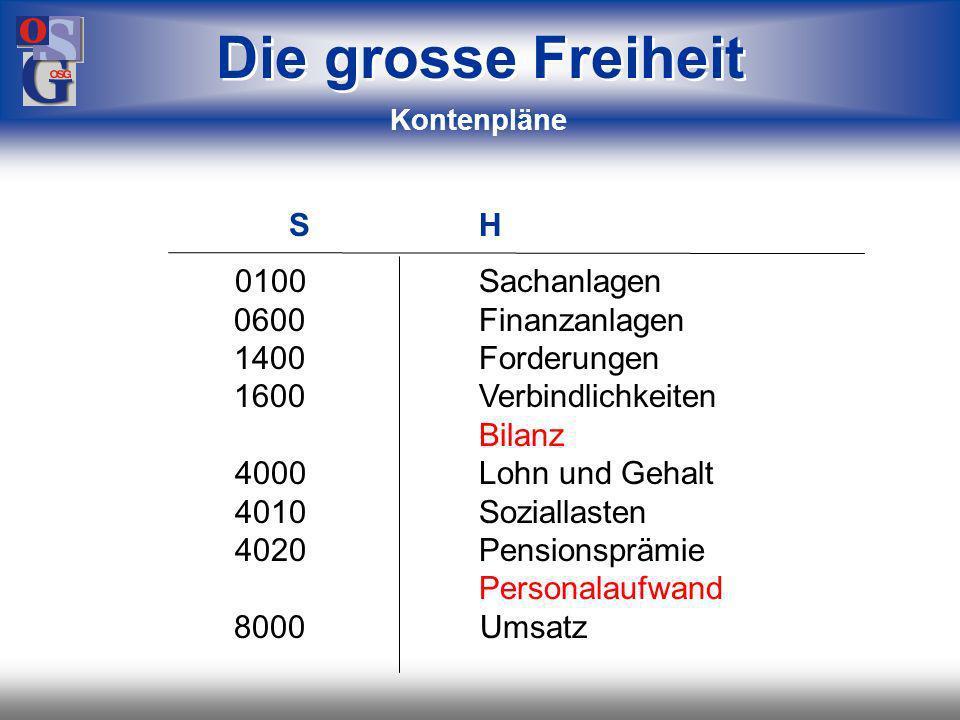 Die grosse Freiheit S H 0100 Sachanlagen 0600 Finanzanlagen