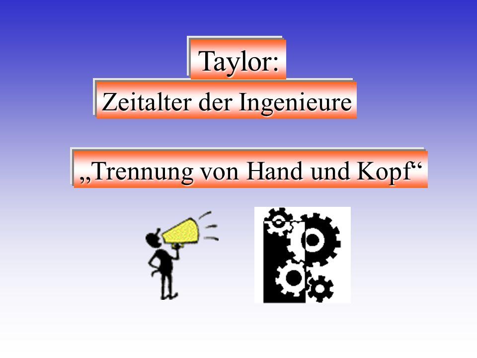 """""""Trennung von Hand und Kopf"""