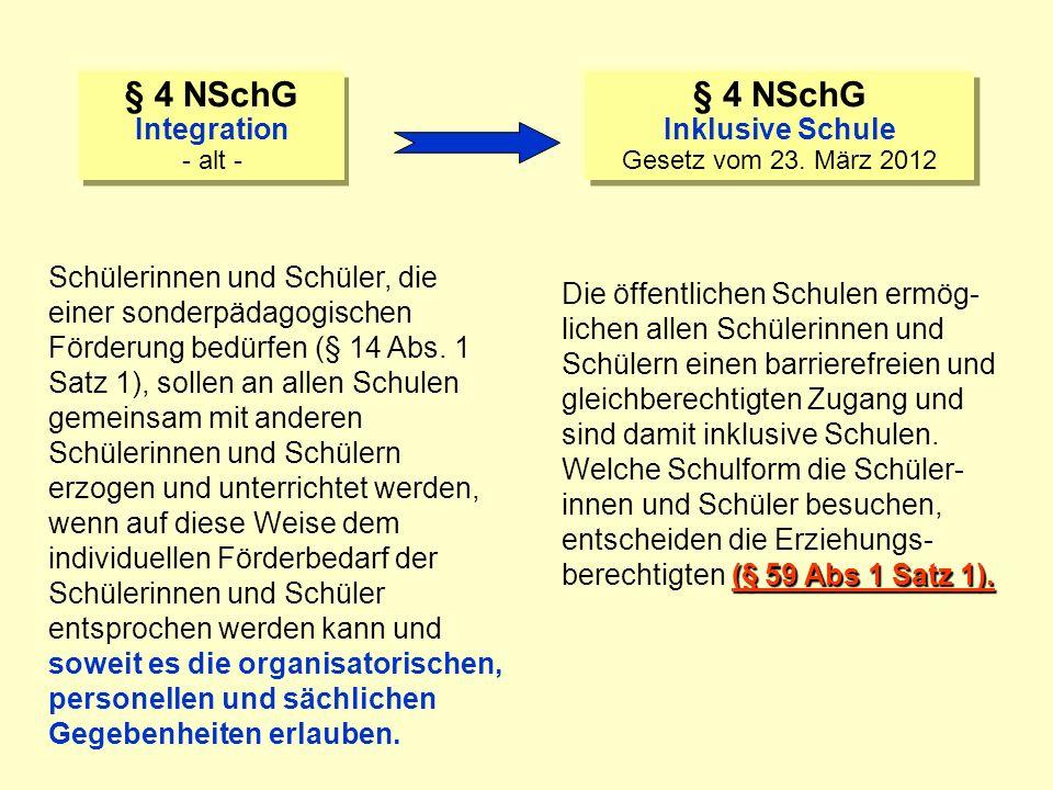 Niedersächsisches Schulgesetz § 59 Abs. 1 Satz 1 NSchG