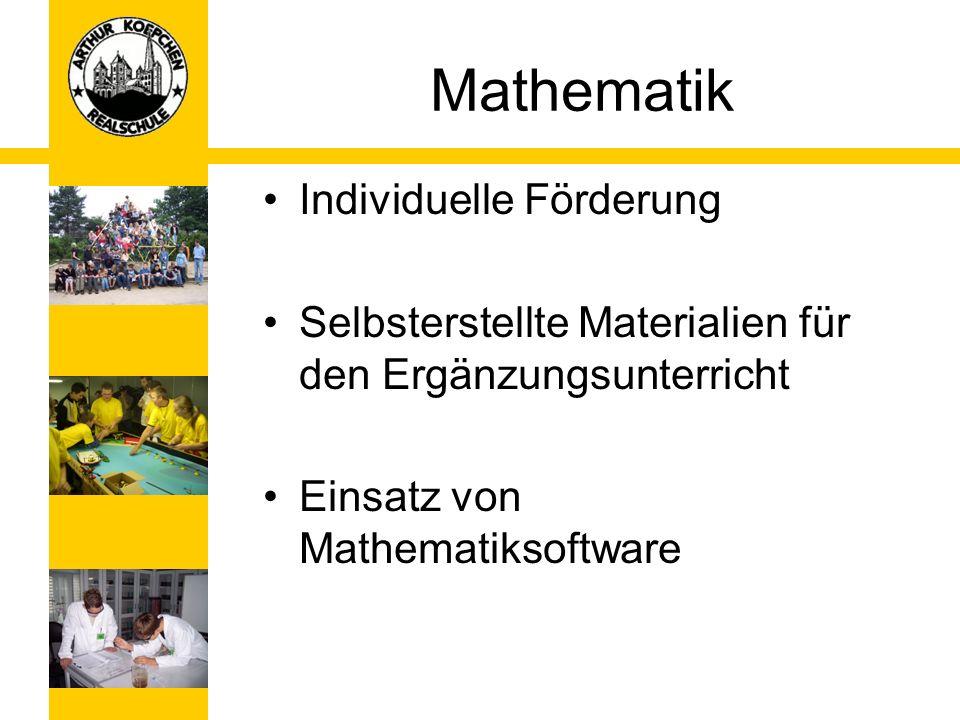 Mathematik Individuelle Förderung