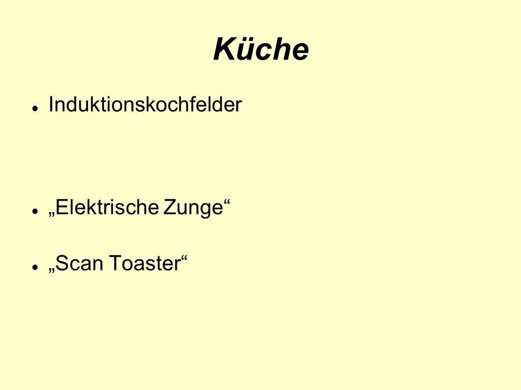 """Küche Induktionskochfelder """"Elektrische Zunge """"Scan Toaster"""