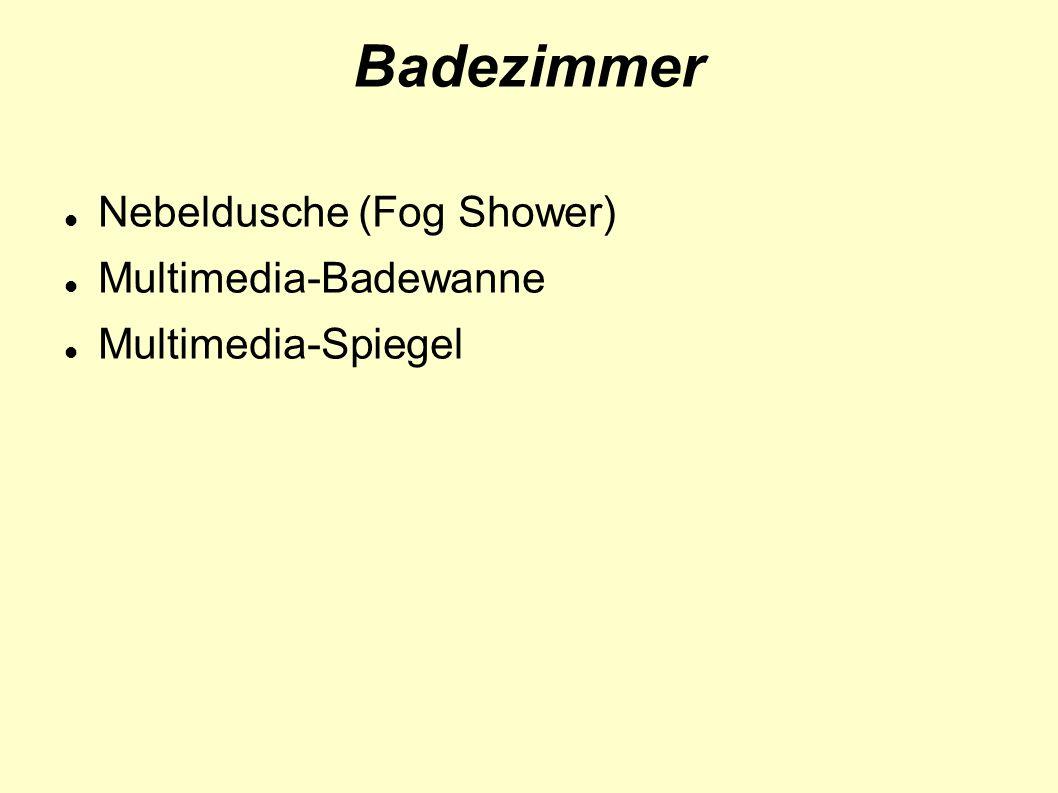 Badezimmer Nebeldusche (Fog Shower) Multimedia-Badewanne