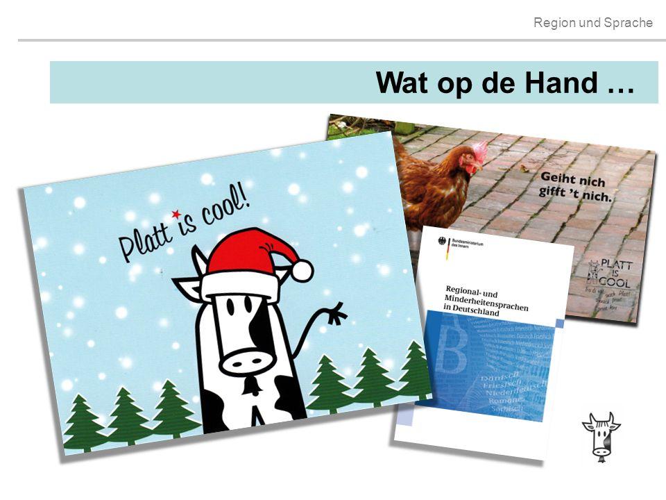 Wat op de Hand … MANFRED Infos zum Handout/Materalpäckchen