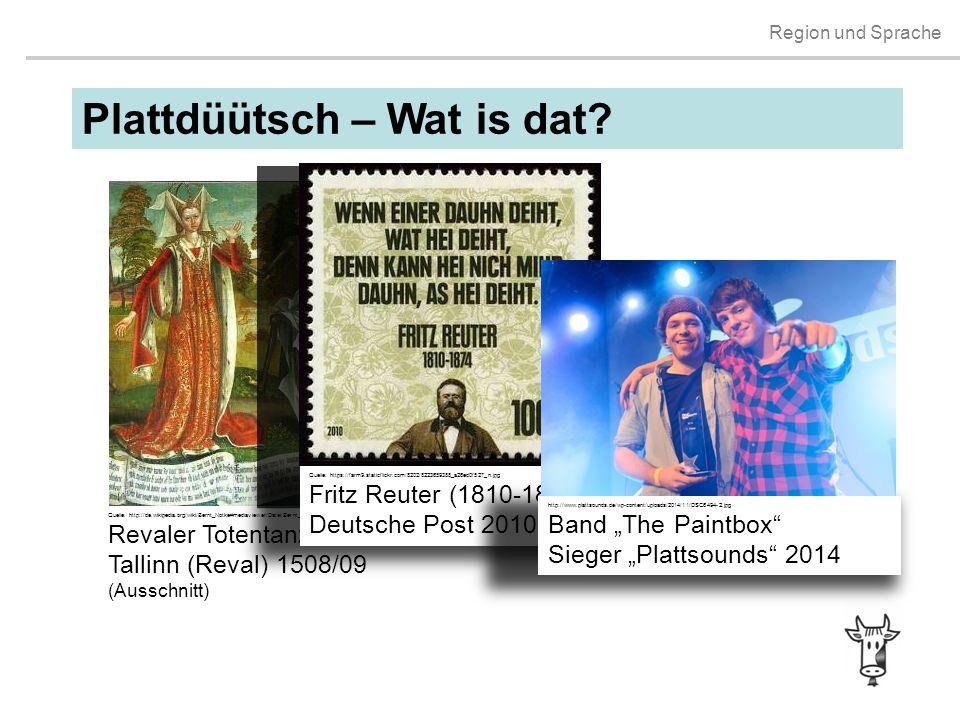 Plattdüütsch – Wat is dat