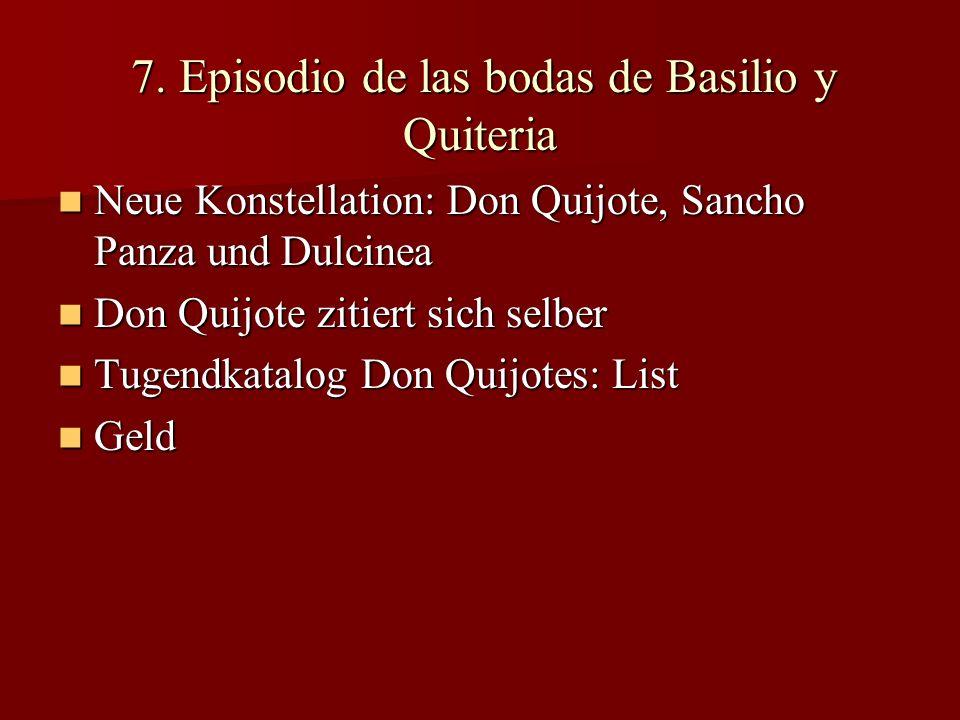 7. Episodio de las bodas de Basilio y Quiteria