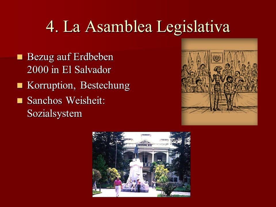 4. La Asamblea Legislativa