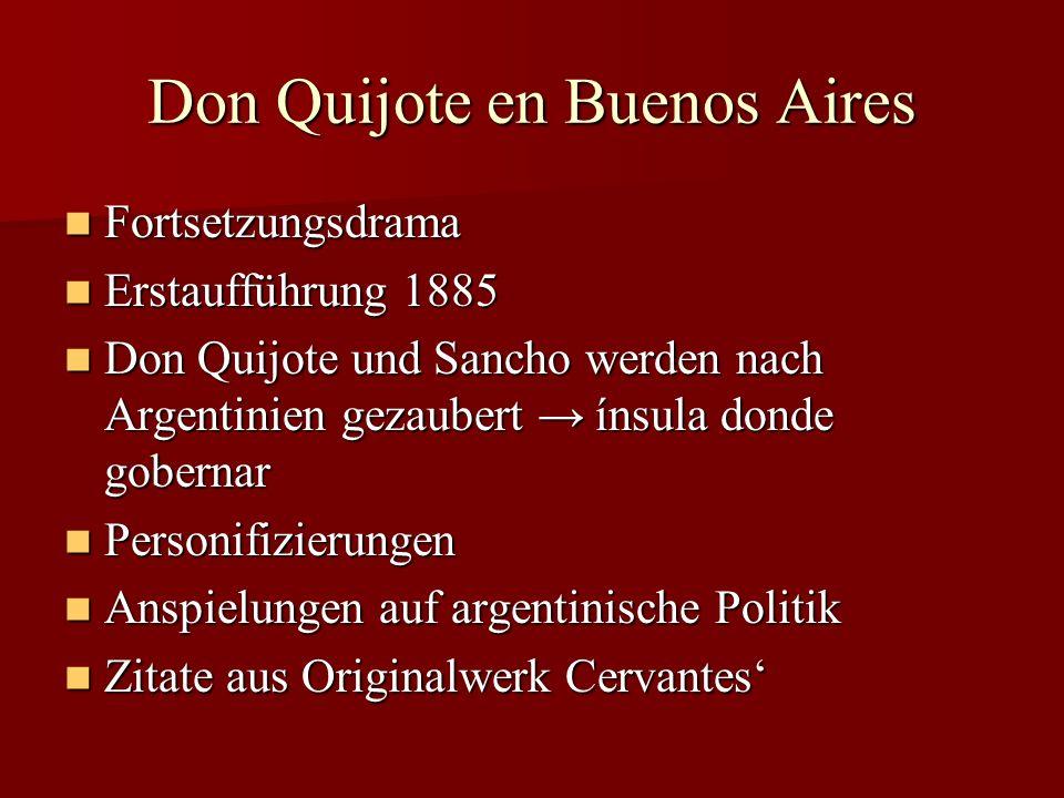 Don Quijote en Buenos Aires