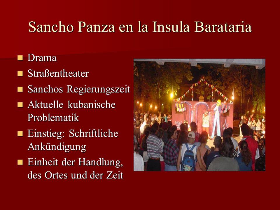 Sancho Panza en la Insula Barataria