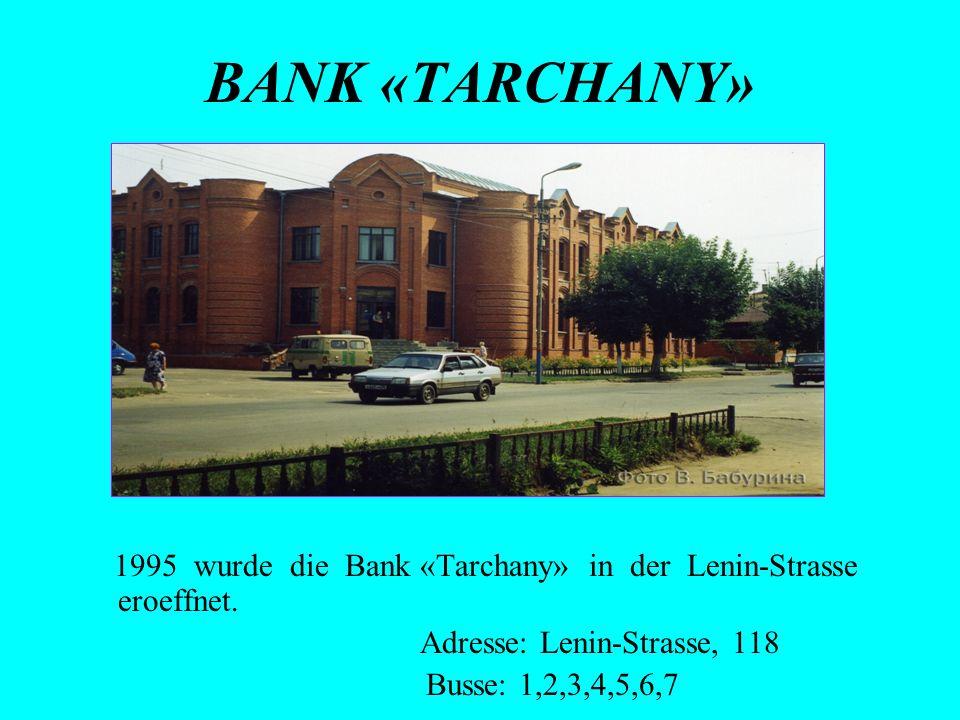 Adresse: Lenin-Strasse, 118