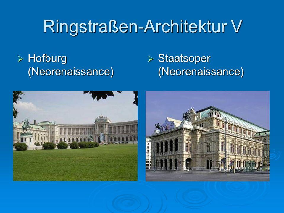 Ringstraßen-Architektur V