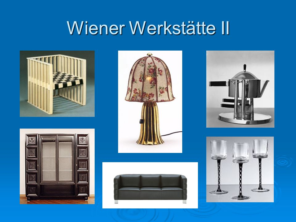 Wiener Werkstätte II