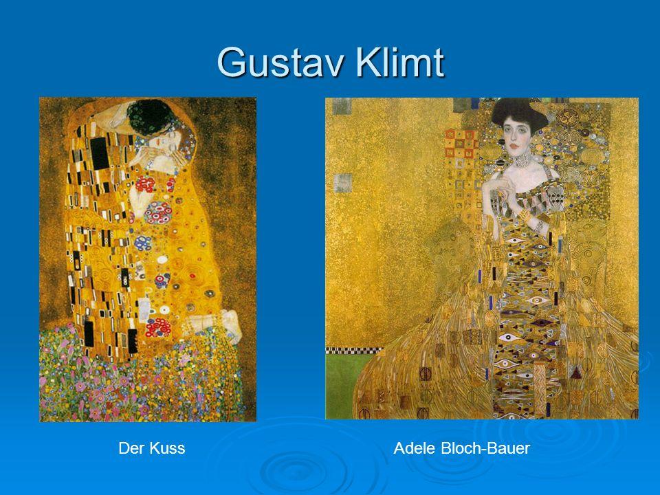 Gustav Klimt Der Kuss Adele Bloch-Bauer