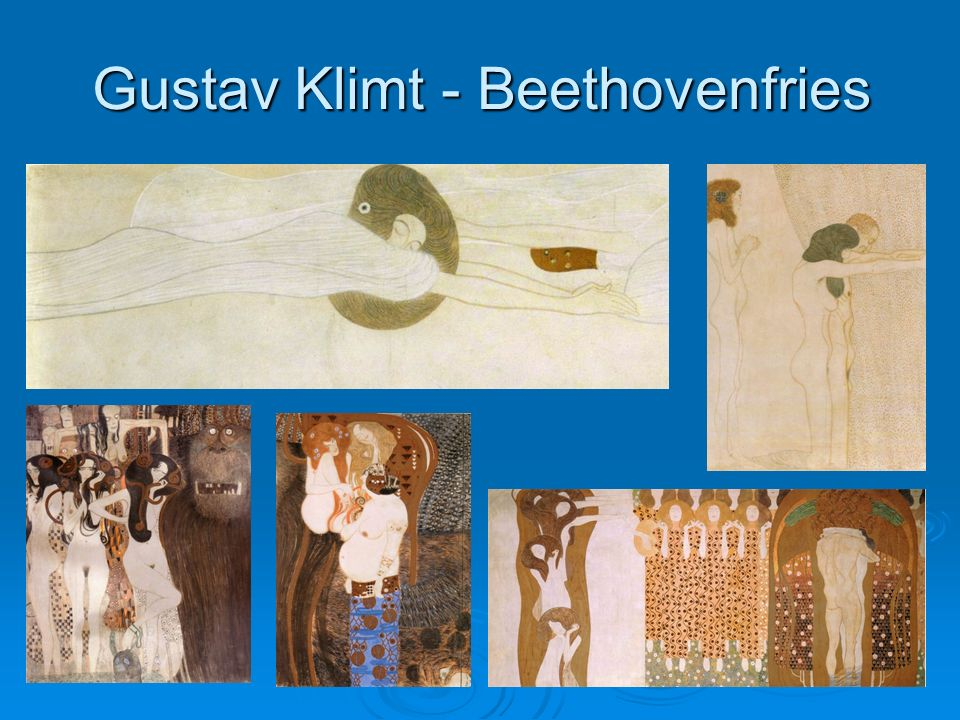 Gustav Klimt - Beethovenfries