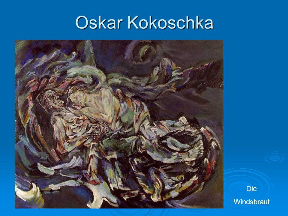 Oskar Kokoschka Die Windsbraut