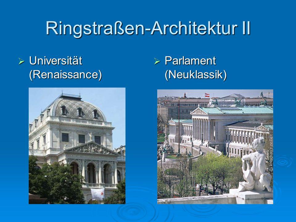 Ringstraßen-Architektur II