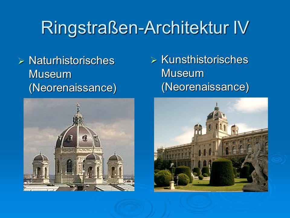 Ringstraßen-Architektur IV