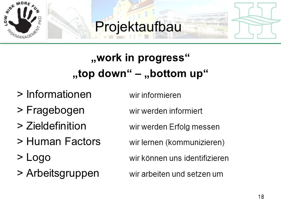 """top down – ""bottom up"