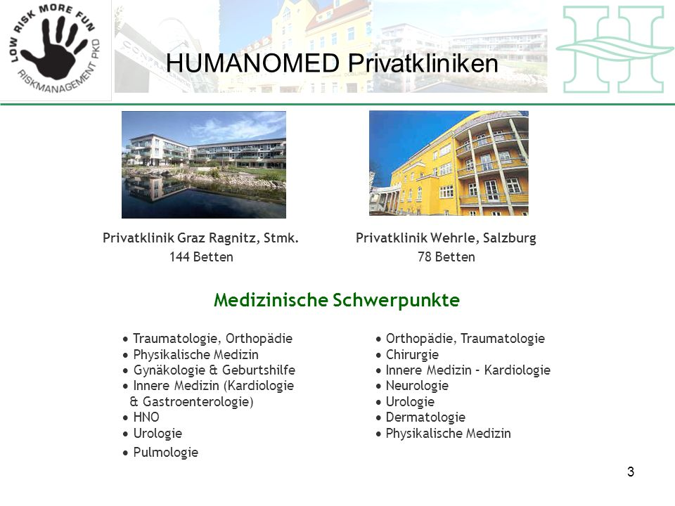 HUMANOMED Privatkliniken