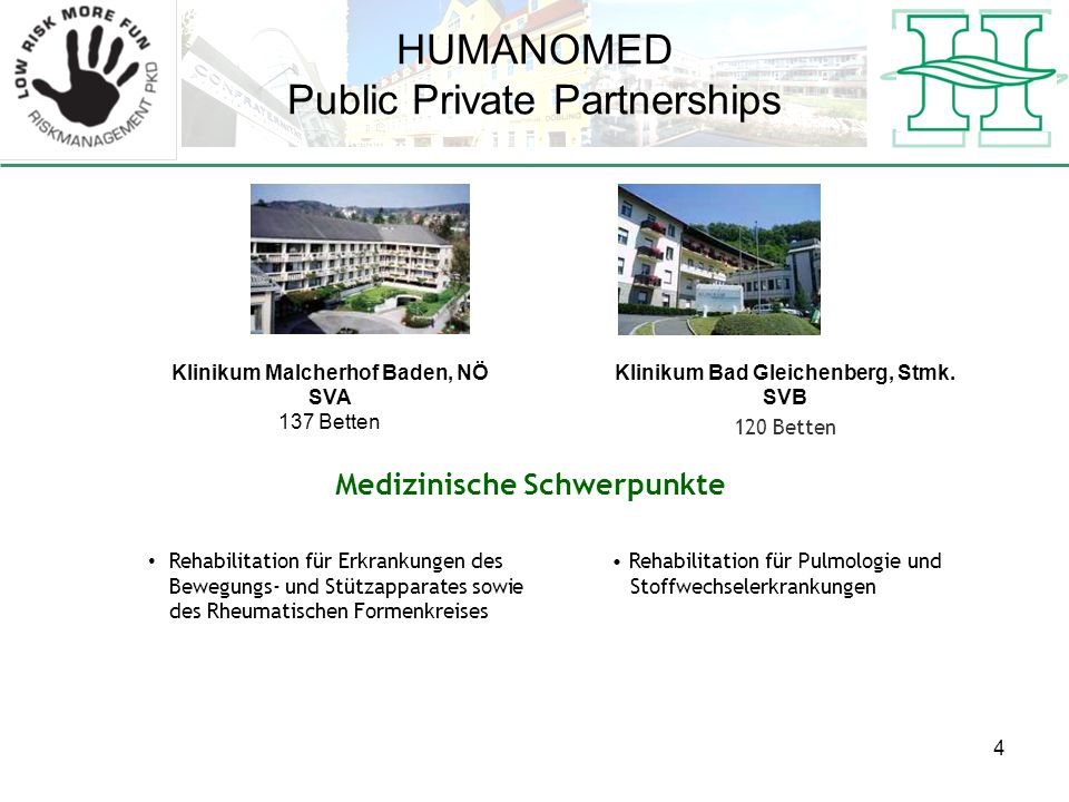 HUMANOMED Public Private Partnerships