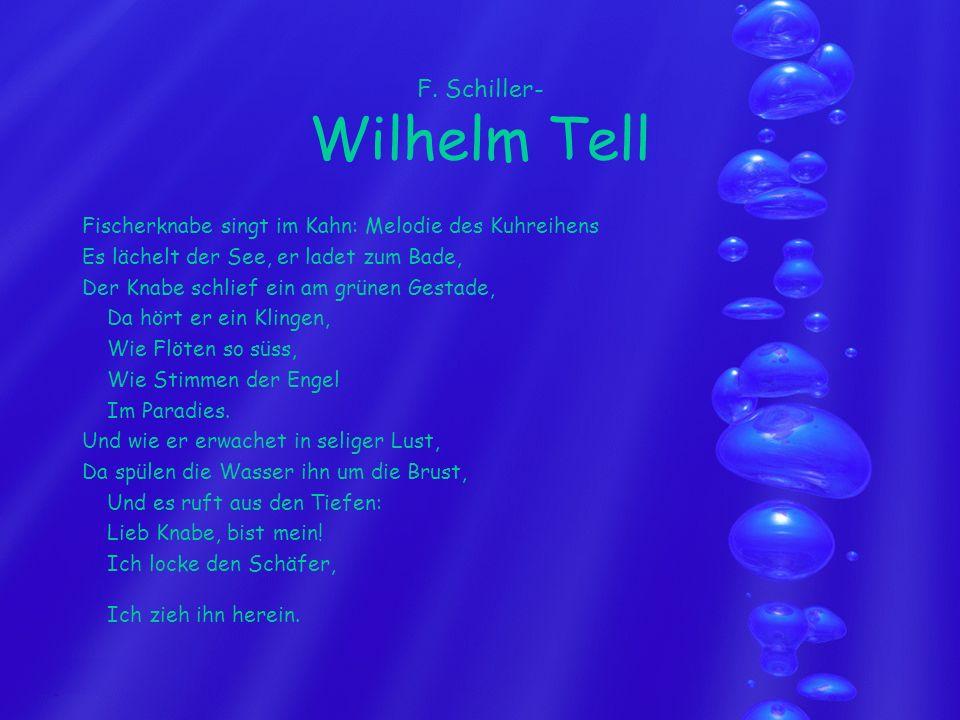F. Schiller- Wilhelm Tell