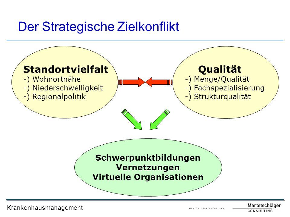 Schwerpunktbildungen Virtuelle Organisationen