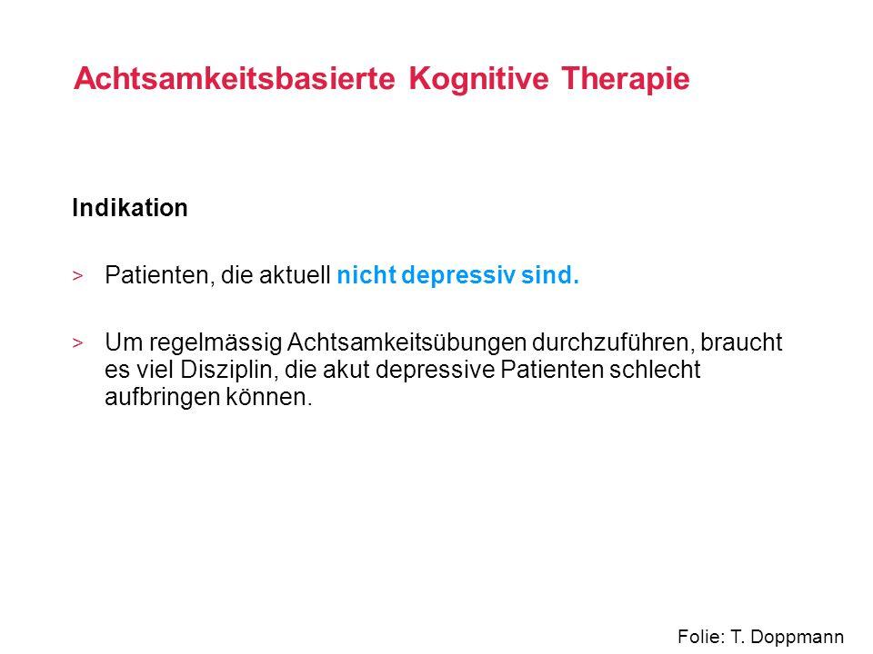 Achtsamkeitsbasierte Kognitive Therapie