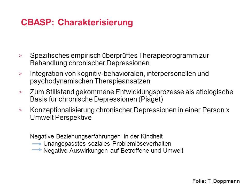 CBASP: Charakterisierung