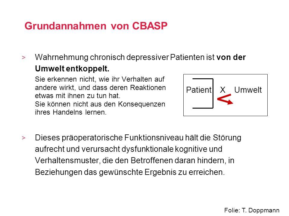 Grundannahmen von CBASP
