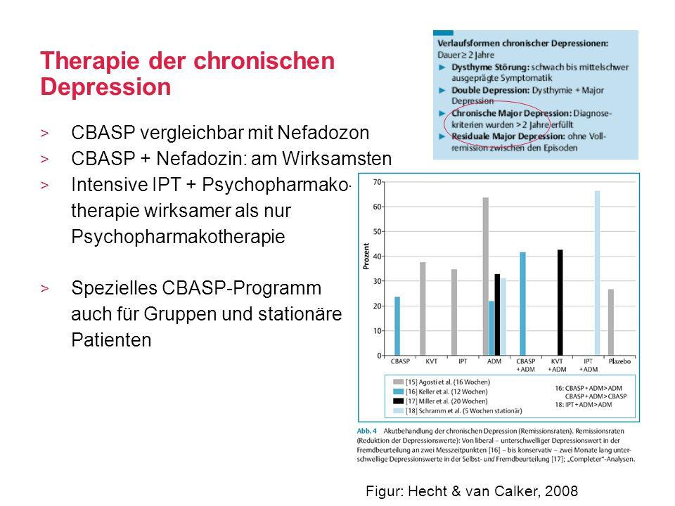 Therapie der chronischen Depression