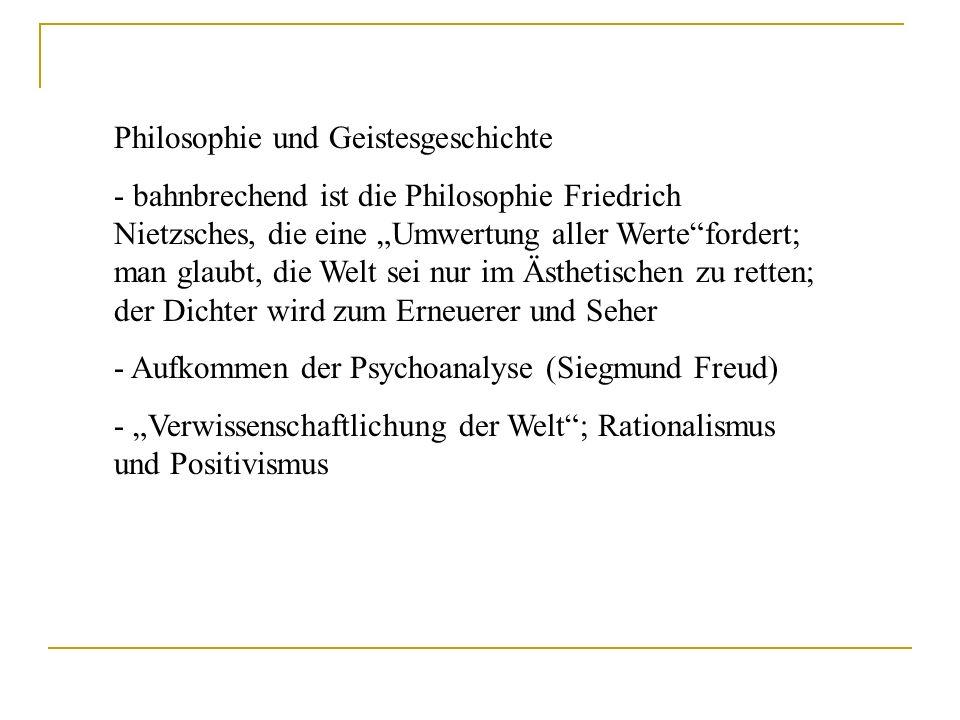 Philosophie und Geistesgeschichte