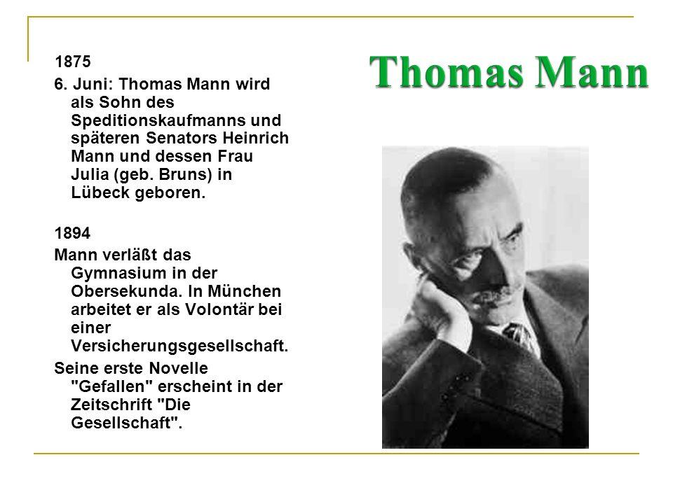 Thomas Mann 1875.